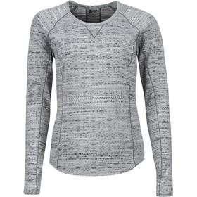 Marmot Sylvie - Camiseta de manga larga Mujer - gris